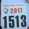 My rider number. I registered for the ride back in April. :)