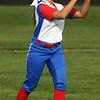 4-11-17<br /> Kokomo vs Taylor softball<br /> Kokomo's Alexis Clark makes the catch for an out.<br /> Kelly Lafferty Gerber | Kokomo Tribune