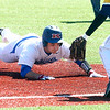 4-8-17<br /> Kokomo baseball vs SB Riley<br /> Kokomo's Noah Hurlock slide safely to third.<br /> Kelly Lafferty Gerber | Kokomo Tribune