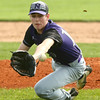 4-15-17<br /> Northwestern vs Mississenewa baseball<br /> NW pitcher Noah Morgan just misses the catch as he lunges for the ball.<br /> Kelly Lafferty Gerber | Kokomo Tribune