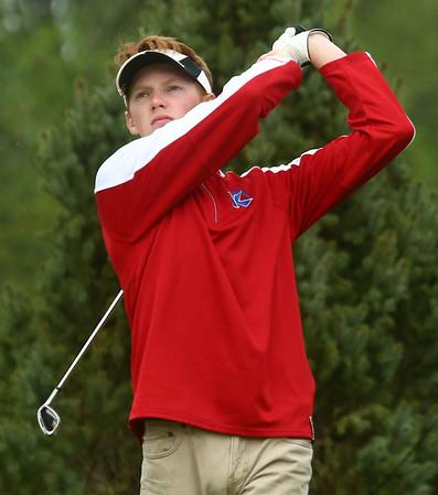 4-28-17<br /> Kokomo vs Taylor boys golf<br /> Kokomo 1 Cole Hanson<br /> Kelly Lafferty Gerber | Kokomo Tribune