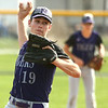 4-15-17<br /> Northwestern vs Mississenewa baseball<br /> NW pitcher Noah Morgan<br /> Kelly Lafferty Gerber | Kokomo Tribune