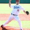 4-8-17<br /> Kokomo baseball vs SB Riley<br /> Kyle Wade pitches.<br /> Kelly Lafferty Gerber | Kokomo Tribune