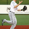 4-19-17<br /> Western vs Northwestern baseball<br /> Western's Cooper O'Neal bobbles the ball.<br /> Kelly Lafferty Gerber | Kokomo Tribune