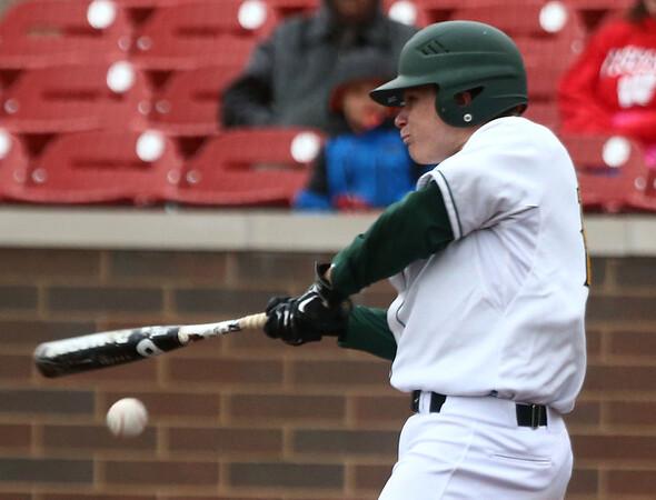 4-27-17<br /> Eastern vs Maconaquah baseball<br /> Eastern defeated Maconaquah in 5 innings, 13-3. Draeden Morris-Graber bats.<br /> Kelly Lafferty Gerber | Kokomo Tribune