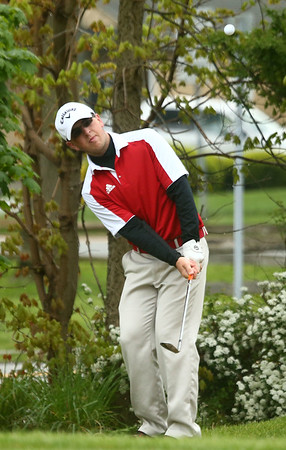 4-28-17<br /> Kokomo vs Taylor boys golf<br /> Taylor's 2 Bryce Fritsch<br /> Kelly Lafferty Gerber | Kokomo Tribune