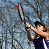 4-12-17<br /> Northwestern girls tennis<br /> 1 doubles Klair Merrell<br /> Kelly Lafferty Gerber | Kokomo Tribune