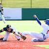 4-8-17<br /> Kokomo baseball vs SB Riley<br /> Kokomo's Justin Hurlock slides safely to second.<br /> Kelly Lafferty Gerber | Kokomo Tribune