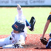 4-8-17<br /> Kokomo baseball vs SB Riley<br /> Bayden Root slides safely to second.<br /> Kelly Lafferty Gerber | Kokomo Tribune