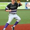 4-19-17<br /> Western vs Northwestern baseball<br /> NW's Collin Hodson scoops up the ball.<br /> Kelly Lafferty Gerber | Kokomo Tribune