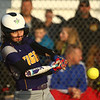 2-14-17<br /> Northwestern vs Oak Hill softball<br /> Chase Butcher bats.<br /> Kelly Lafferty Gerber | Kokomo Tribune