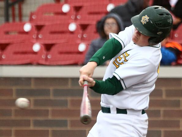 4-27-17<br /> Eastern vs Maconaquah baseball<br /> Eastern defeated Maconaquah in 5 innings, 13-3. Logan Smith bats.<br /> Kelly Lafferty Gerber | Kokomo Tribune