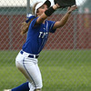 4-14-17<br /> Western vs Tipton softball<br /> Tipton's Bailey Caylor makes the catch for an out.<br /> Kelly Lafferty Gerber | Kokomo Tribune