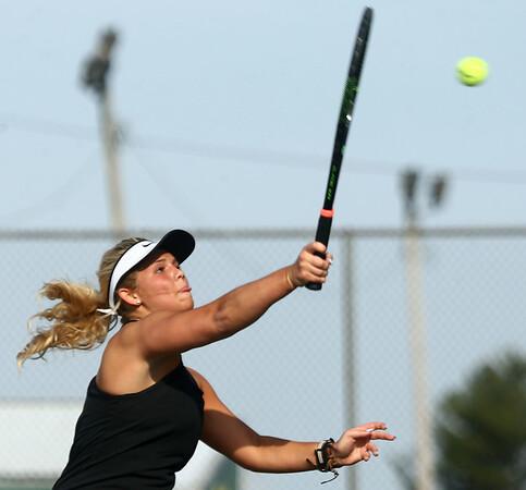 4-12-17<br /> Northwestern girls tennis<br /> 3 singles Morgan Mercer<br /> Kelly Lafferty Gerber | Kokomo Tribune