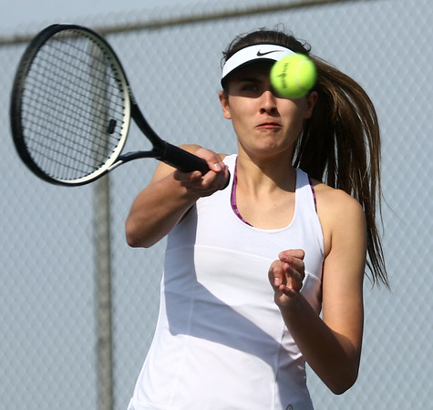 4-12-17<br /> Northwestern girls tennis<br /> 1 singles Madison Layden<br /> Kelly Lafferty Gerber | Kokomo Tribune