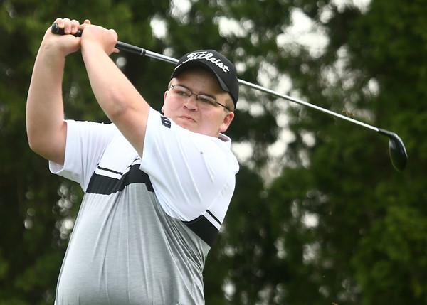 4-13-17<br /> Western boys golf<br /> 3 Levi Purtee<br /> Kelly Lafferty Gerber | Kokomo Tribune