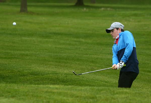 4-28-17<br /> Kokomo vs Taylor boys golf<br /> Taylor's 1 Jadon Kosberg<br /> Kelly Lafferty Gerber | Kokomo Tribune