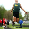 4-22-17<br /> Eastern track and field<br /> Eastern's Aren Turner in the long jump.<br /> Kelly Lafferty Gerber | Kokomo Tribune