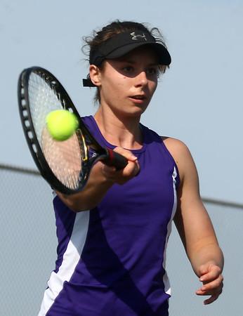 4-12-17<br /> Northwestern girls tennis<br /> Allison Miller 2 singles<br /> Kelly Lafferty Gerber | Kokomo Tribune
