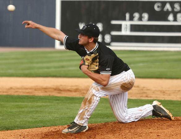 4-26-17<br /> Cass vs Western baseball<br /> Western's Tyler Knepley pitches.<br /> Kelly Lafferty Gerber | Kokomo Tribune