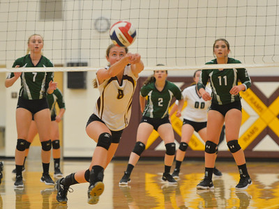 Big Horn Tops Lady Eagles Volleyball