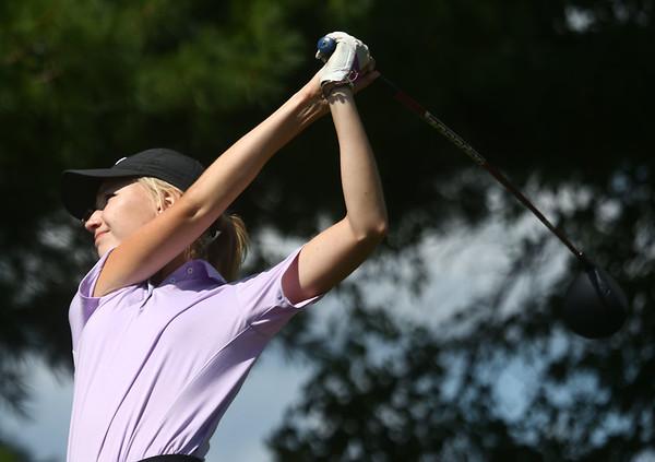 8-12-17<br /> Girls golf invitational<br /> Northwestern 1 Emily Martin<br /> Kelly Lafferty Gerber | Kokomo Tribune