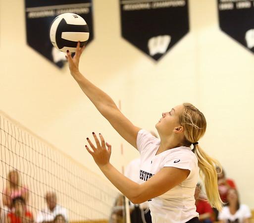 8-15-17<br /> Western vs Kokomo volleyball<br /> <br /> Kelly Lafferty Gerber | Kokomo Tribune