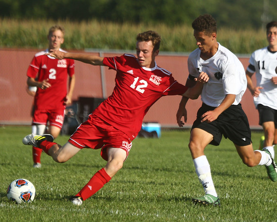 8-17-17<br /> Western vs Kokomo boys soccer<br /> <br /> Kelly Lafferty Gerber | Kokomo Tribune