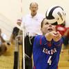 8-15-17<br /> Western vs Kokomo volleyball<br /> Kokomo's Kylee Lauderbaugh sets the ball.<br /> Kelly Lafferty Gerber | Kokomo Tribune