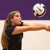 8-29-17<br /> Northwestern vs. Clinton Central volleyball<br /> Ashley Cunningham sets the ball.<br /> Kelly Lafferty Gerber | Kokomo Tribune