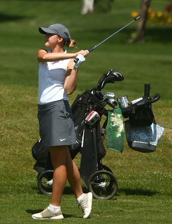 8-12-17<br /> Girls golf invitational<br /> Western 1 Lauren Tuchscherer<br /> Kelly Lafferty Gerber   Kokomo Tribune
