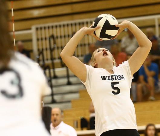 8-15-17<br /> Western vs Kokomo volleyball<br /> <br /> Kelly Lafferty Gerber   Kokomo Tribune