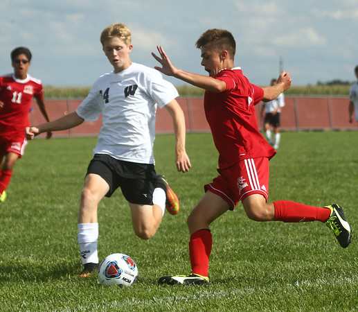 8-17-17<br /> Western vs Kokomo boys soccer<br /> <br /> Kelly Lafferty Gerber   Kokomo Tribune