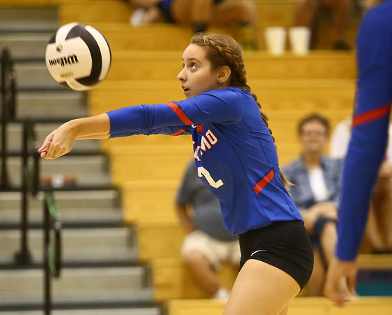 8-15-17<br /> Western vs Kokomo volleyball<br /> <br /> Kelly Lafferty Gerber | Kokomo Tribune