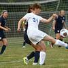 8-16-17<br /> Kokomo vs Oak Hill girls soccer<br /> Kokomo's Kirstin Pierce goes after the ball.<br /> Kelly Lafferty Gerber | Kokomo Tribune