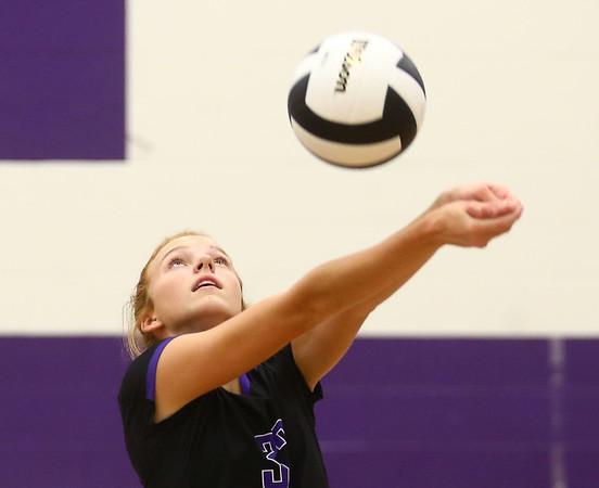 8-29-17<br /> Northwestern vs. Clinton Central volleyball<br /> <br /> Kelly Lafferty Gerber | Kokomo Tribune