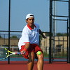 Daniel Socias playing tennis at KHS on Aug. 28, 2017. <br /> Tim Bath | Kokomo Tribune