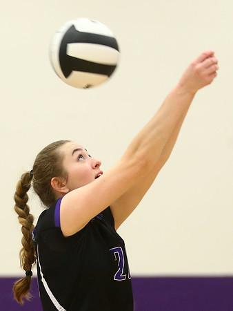 8-29-17<br /> Northwestern vs. Clinton Central volleyball<br /> Jenna Goodspeed returns the ball.<br /> Kelly Lafferty Gerber   Kokomo Tribune