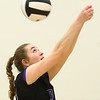 8-29-17<br /> Northwestern vs. Clinton Central volleyball<br /> Jenna Goodspeed returns the ball.<br /> Kelly Lafferty Gerber | Kokomo Tribune