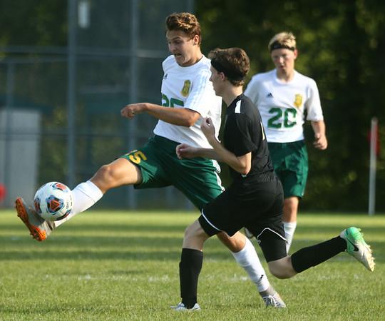 8-30-17<br /> Eastern vs Peru boys soccer<br /> Joe Hawes<br /> Kelly Lafferty Gerber | Kokomo Tribune