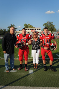 8-25-17 BHS Football Parents Night-14 & 51 Brien & Brett Basinger