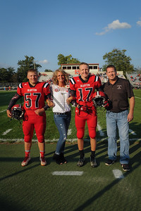 8-25-17 BHS Football Parents Night-17 & 57 Mason & McCormic Ault