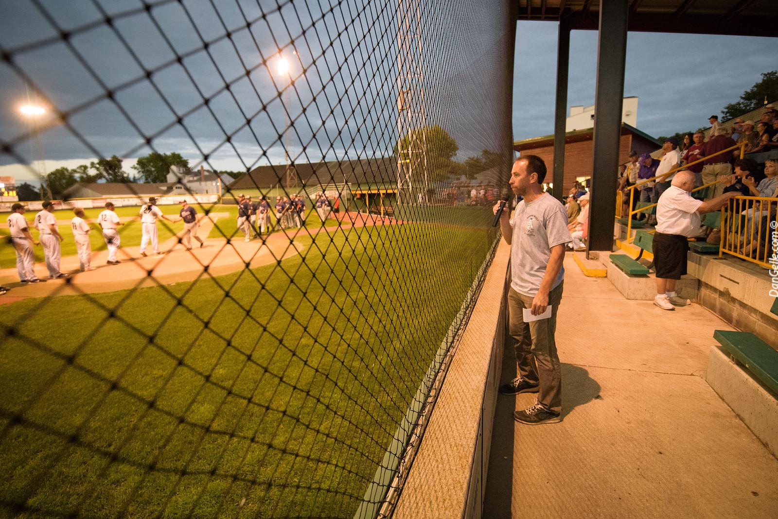 Darwin Night at Saints Field