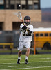 Boys JV High School Lacrosse. Union-Endicott Tigers at Corning Hawks. April 11, 2017.