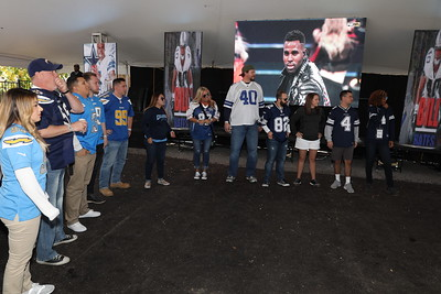 2017 Chargers at Cowboys Tailgate