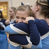Page Cheerleaders react to finding out they placed third and will move on to the region tourament
