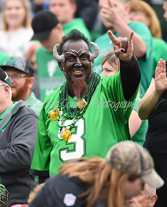 Marshall fan prior to kickoff with Miami on Saturday evening.  MARTY CONLEY/ FOR THE DAILY INDEPENDENT