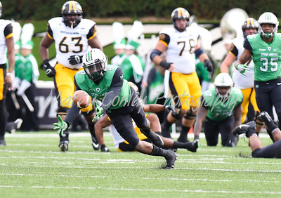 Marshall's Brandon Drayton dives for a loose ball on Saturday against Southern Mississippi.  MARTY CONLEY/ FOR THE DAILY INDEPENDENT