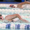 12-6-17<br /> Kokomo swimming<br /> Rachel Dillman in the girls 100 yard freestyle.<br /> Kelly Lafferty Gerber | Kokomo Tribune