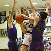 12-1-17<br /> Northwestern vs Western boys basketball<br /> Western's Cooper O'Neal shoots.<br /> Kelly Lafferty Gerber | Kokomo Tribune